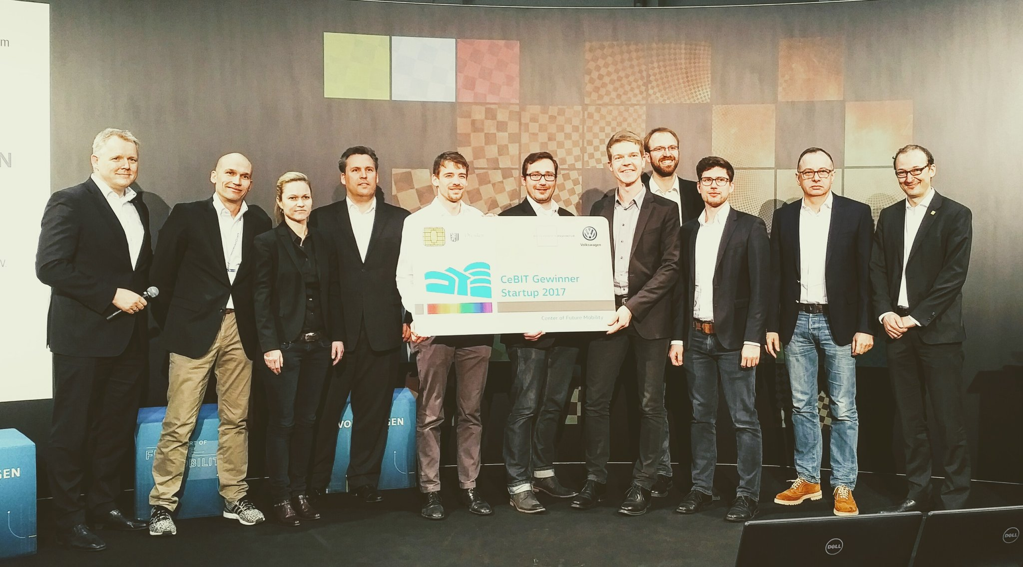 Geospin Wins VW Incubator Competition
