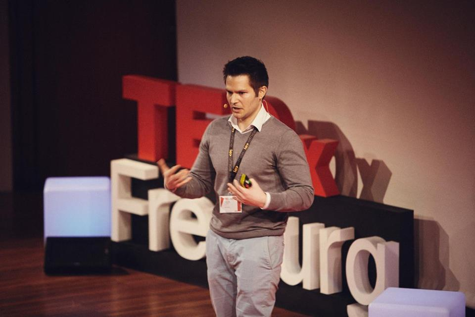 CEO Of Geospin Was One The Speakers At TEDxFreiburg