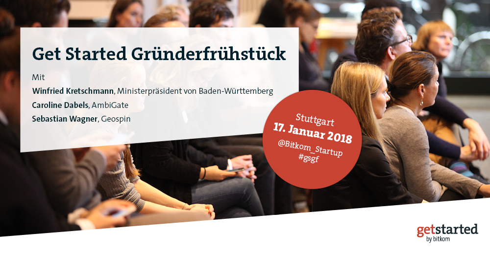 Don't Miss: Geospin At Gründerfrühstück By Get Started By Bitkom In Stuttgart
