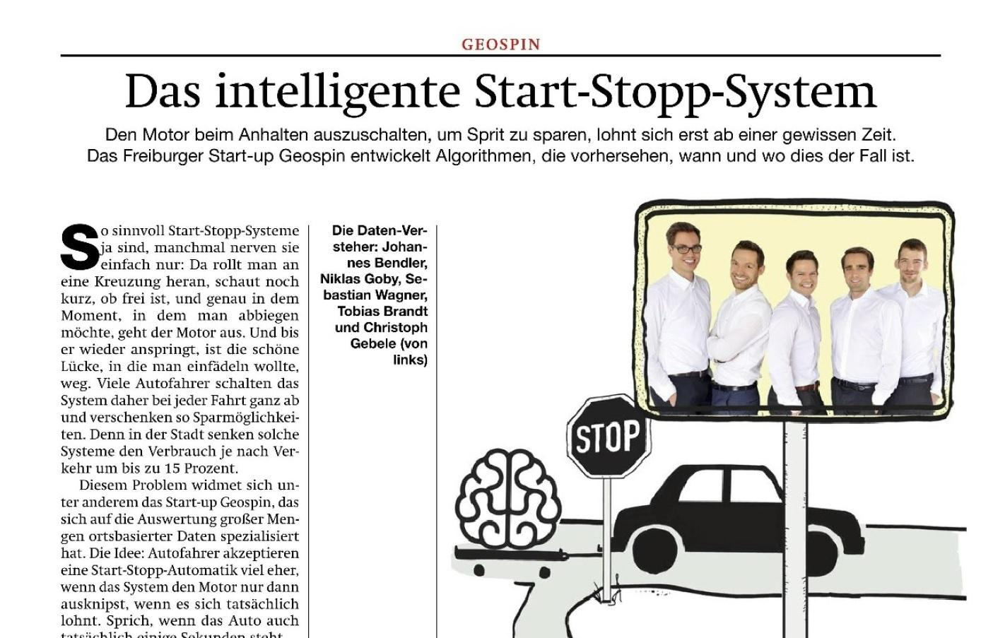 Geospin Use Case In Cooperation With Data:Lab Munich – Article In Automotorsport