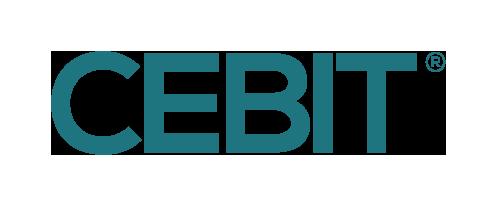 CEBIT Logo+R Turquois Dark