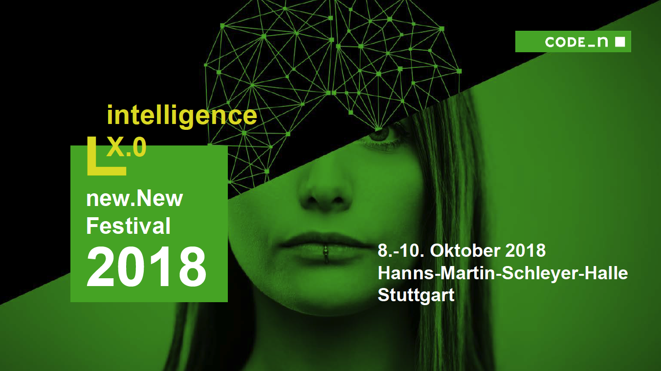 Geospin At New.New Festival From October 8th – 10th 2018 In Stuttgart