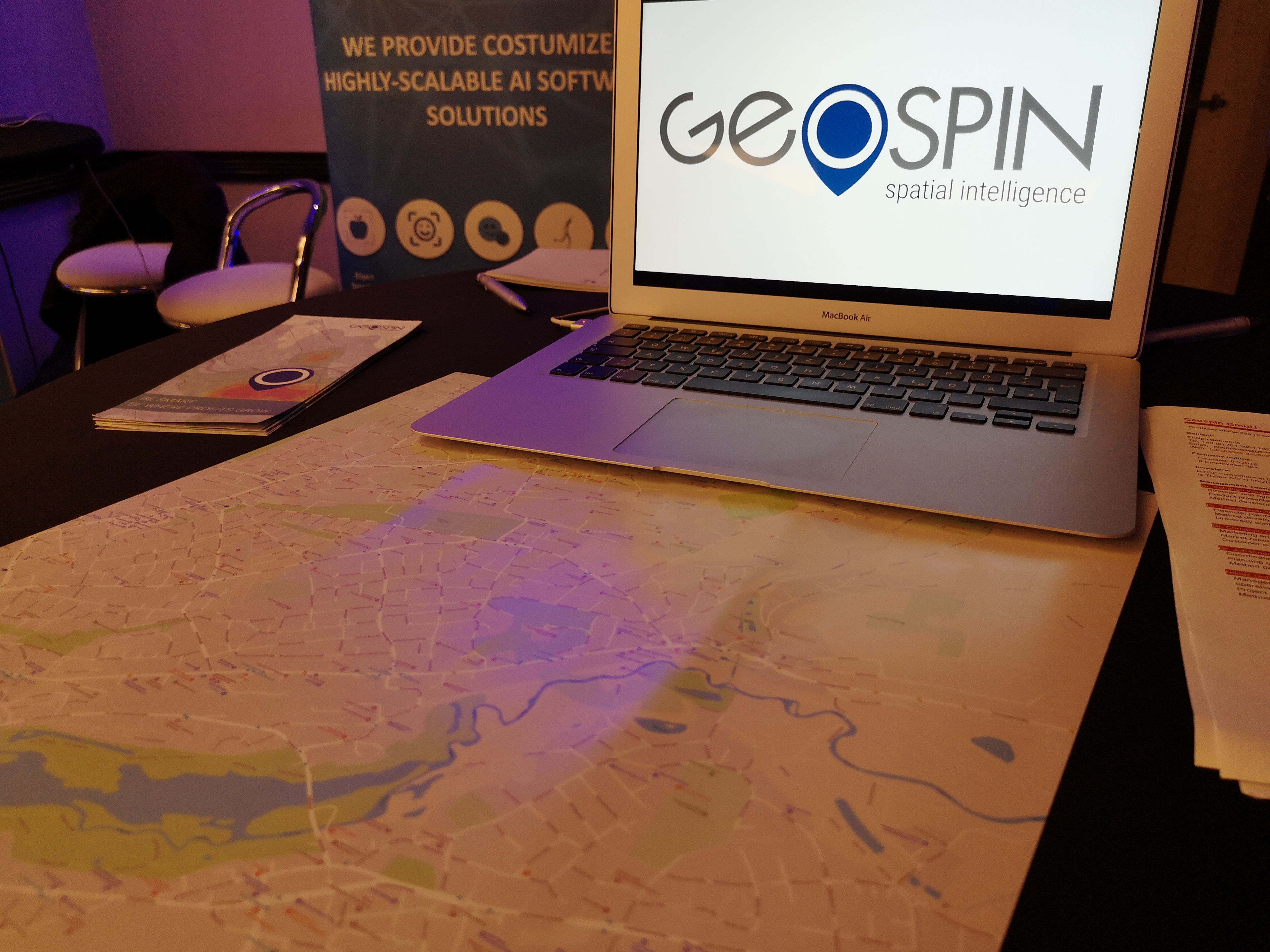 Geospin At Kinnovate In Munich