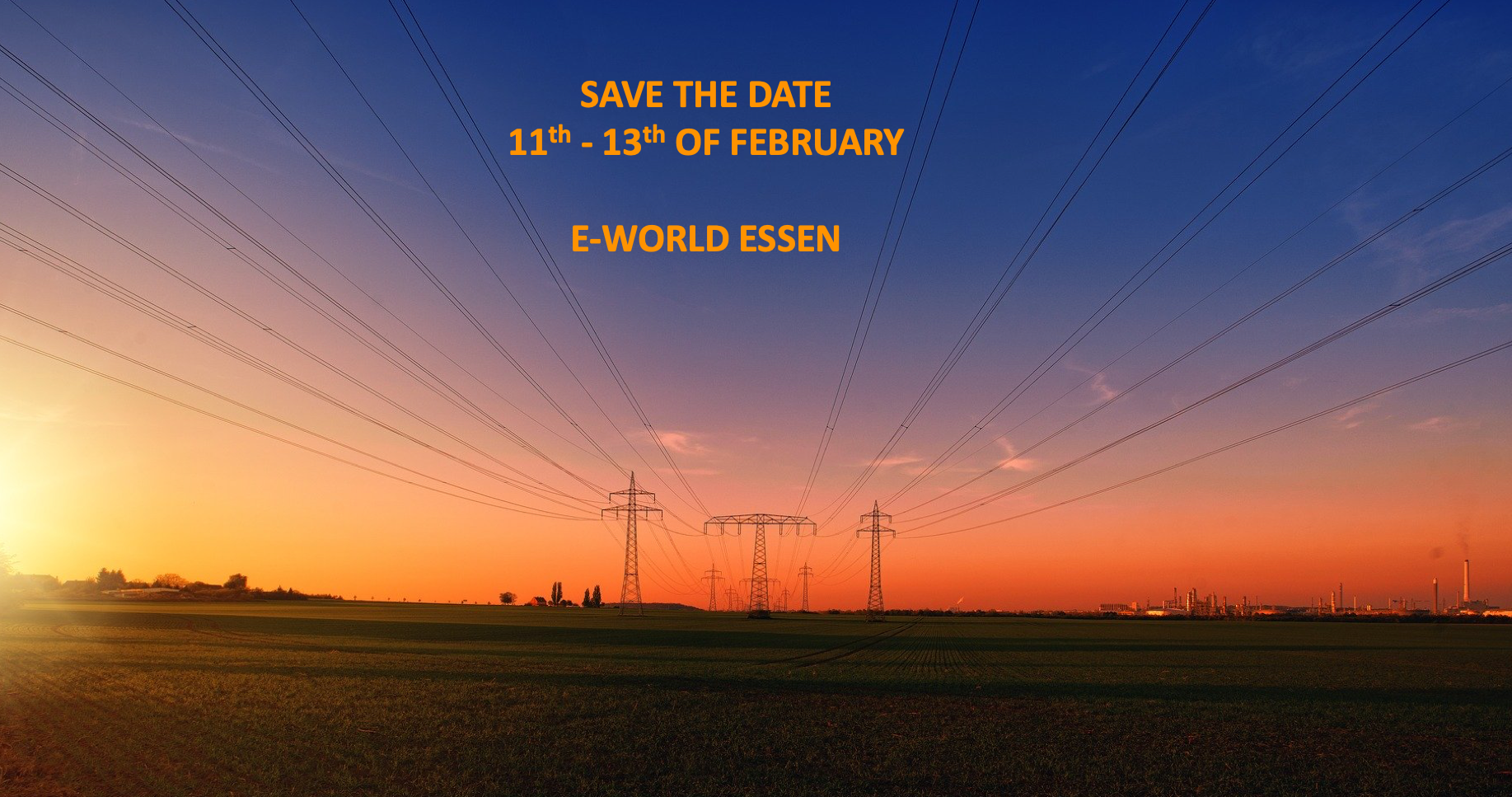 Visit Us In February At E-World In Essen