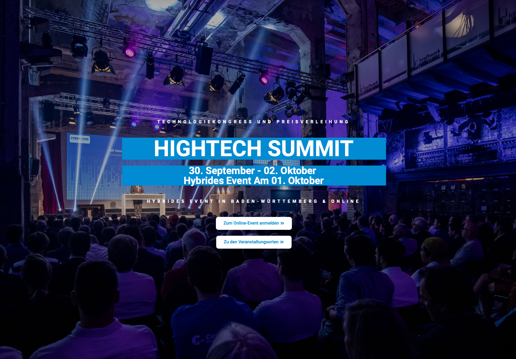 Visit Us At The Virtual Hightech Summit On 1st October