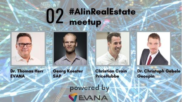 Christoph Gebele Beim Virtuellen #AIinRealEstate Meetup